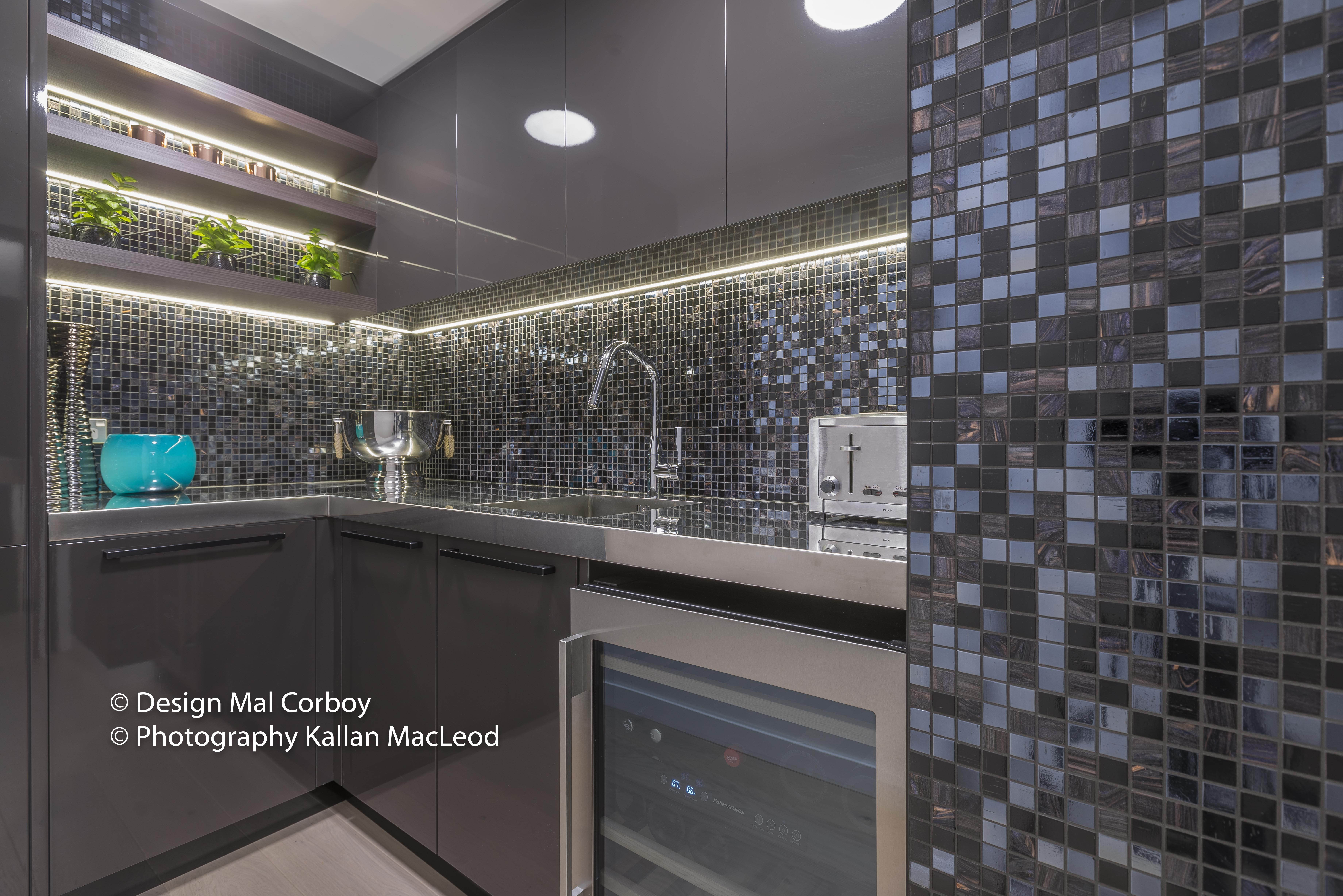 Hamilton City Apartment - kitchen