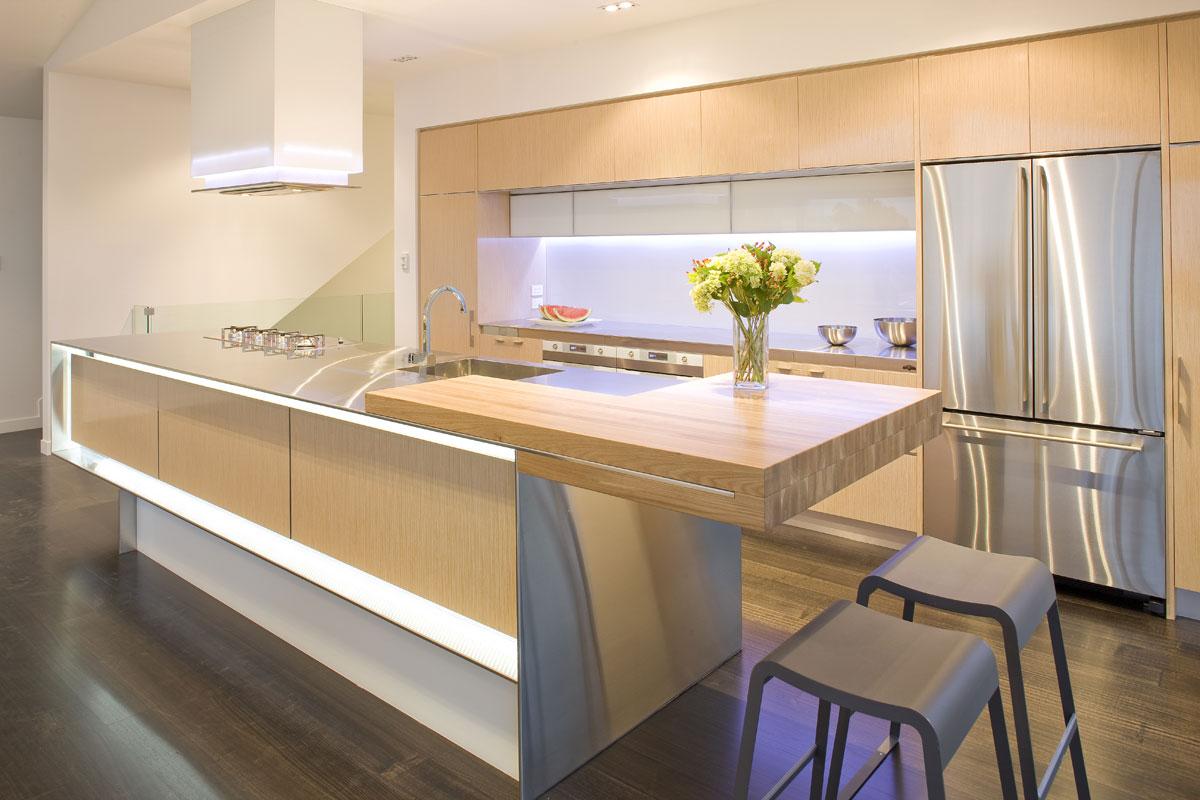 Kitchen island design nz - 2009 Award Winner St Mary S Bay Kitchen New Zealand